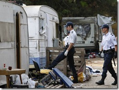 French Police Gipsies